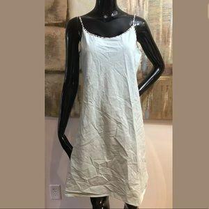 Burberry London Nova Check Slip Dress Medium